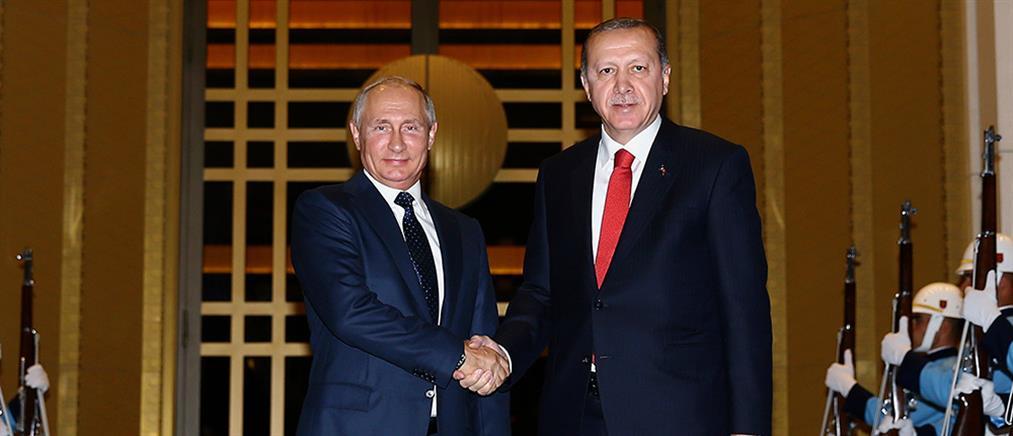 Ερντογάν και Πούτιν συμφώνησαν για εδαφική ακεραιότητα Ιράκ και Συρίας