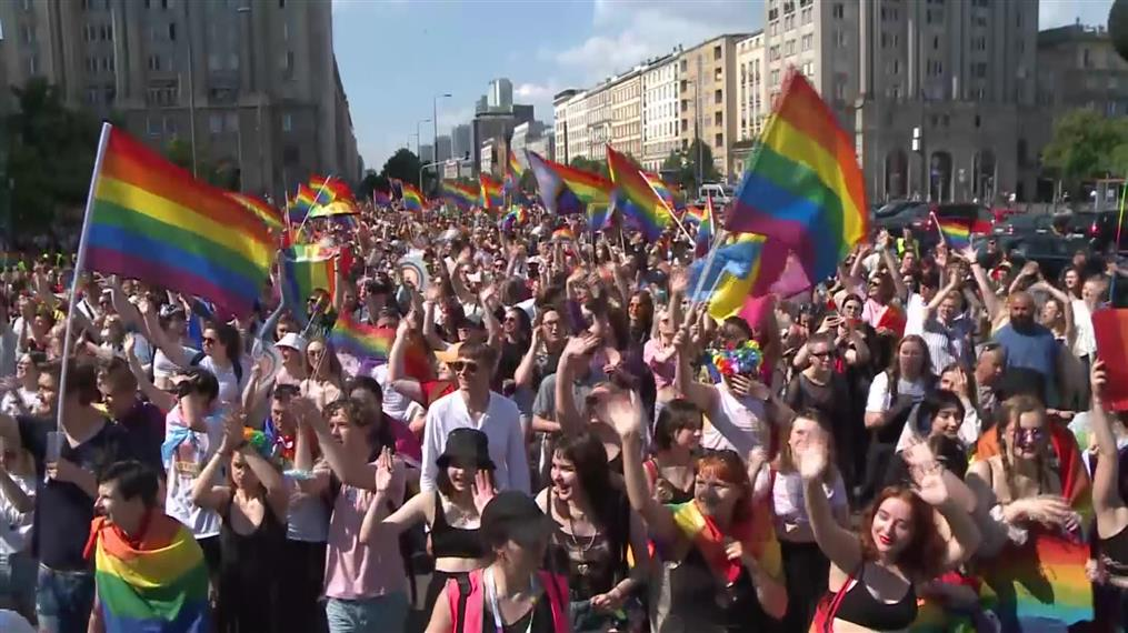 Πολωνία: Πορεία Περηφάνιας στη Βαρσοβία