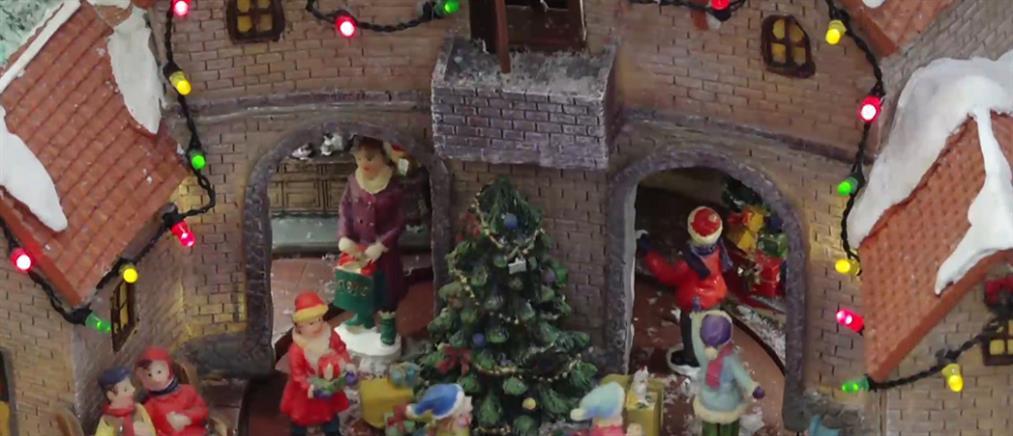 Χριστουγεννιάτικοι στολισμοί σε καιρό lockdown (βίντεο)