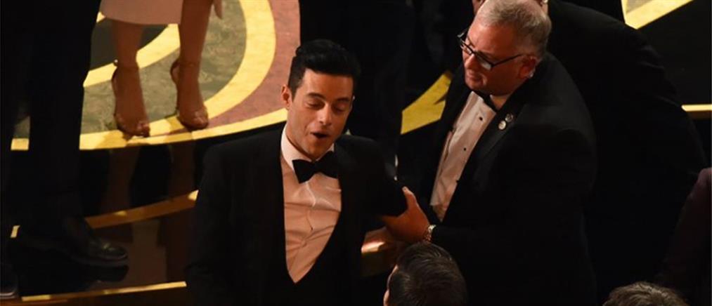Όσκαρ 2019: Το ατύχημα του νικητή του Α' ανδρικού ρόλου (εικόνες)