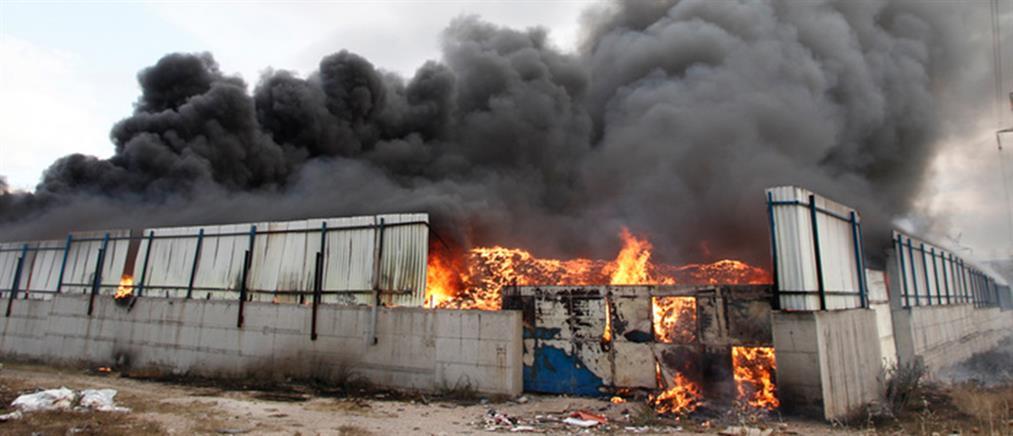 Οι μετρήσεις για το τοξικό νέφος από την φωτιά στον Ασπρόπυργο