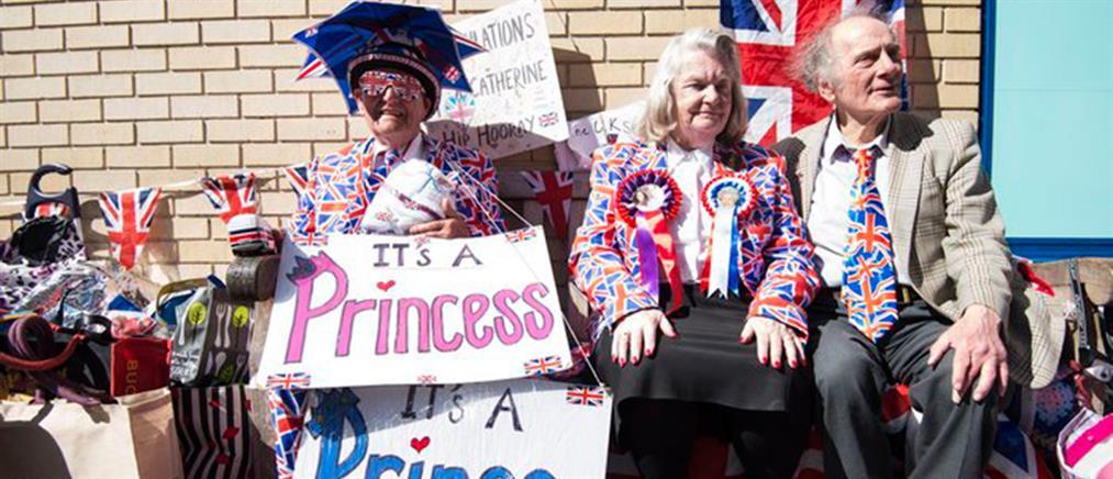 «Φρενίτιδα» στη Βρετανία λίγο πριν τη γέννηση του «βασιλικού» μωρού