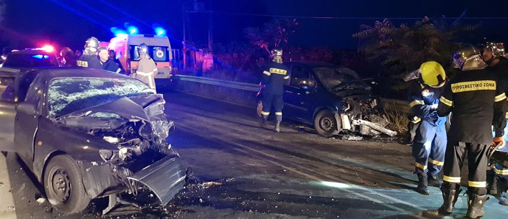 Τροχαίο στην Εθνική Οδό: θανατηφόρα καραμπόλα (εικόνες)