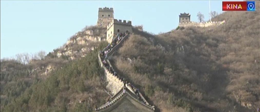 Σινικό Τείχος: Ο ΑΝΤ1 στο μεγαλύτερο οικοδόμημα του πλανήτη (βίντεο)