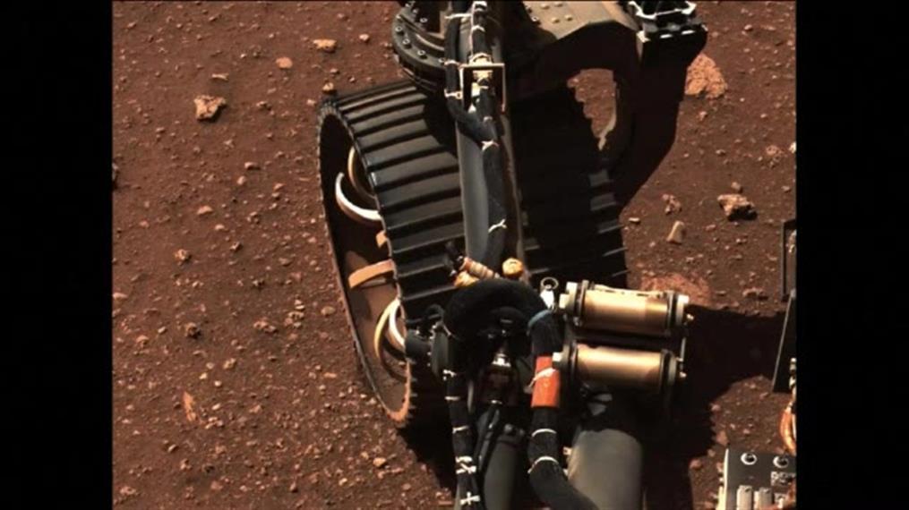 NASA: Το ρόβερ Perseverance διήνυσε τα πρώτα μέτρα στον Άρη