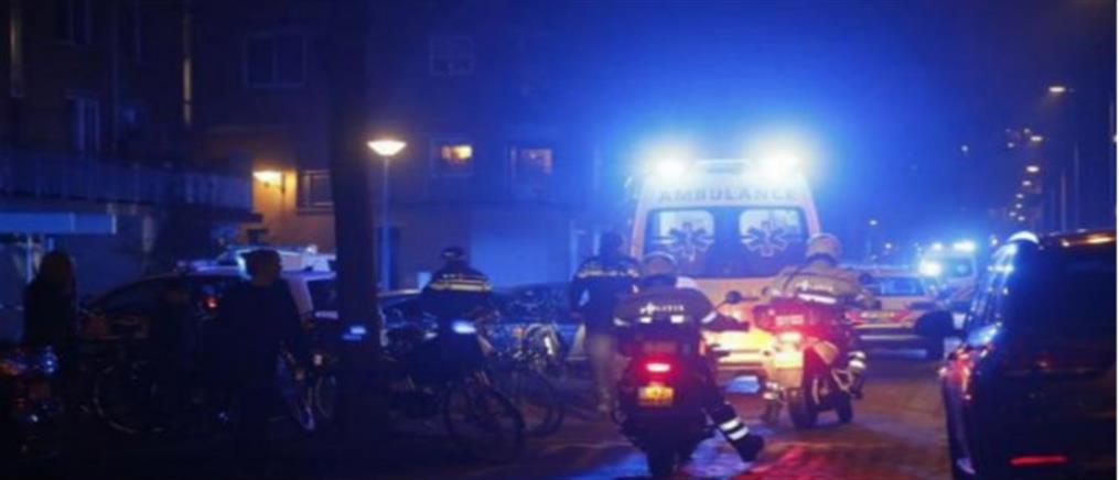 Πυροβολισμοί στο κέντρο του Άμστερνταμ