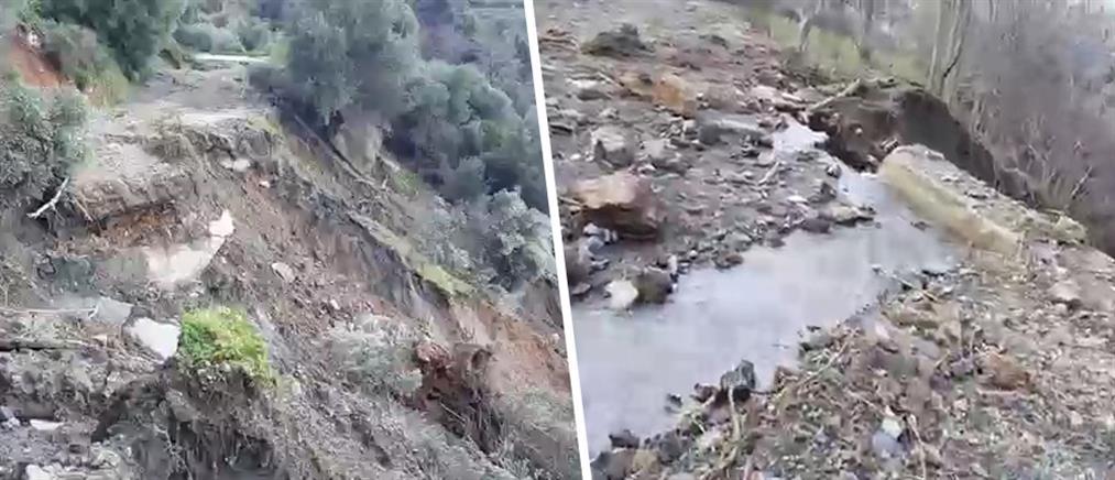 Έκκληση για βοήθεια κάνουν οι κάτοικοι του χωριού Σκορδαλού στα Χανιά (εικόνες)