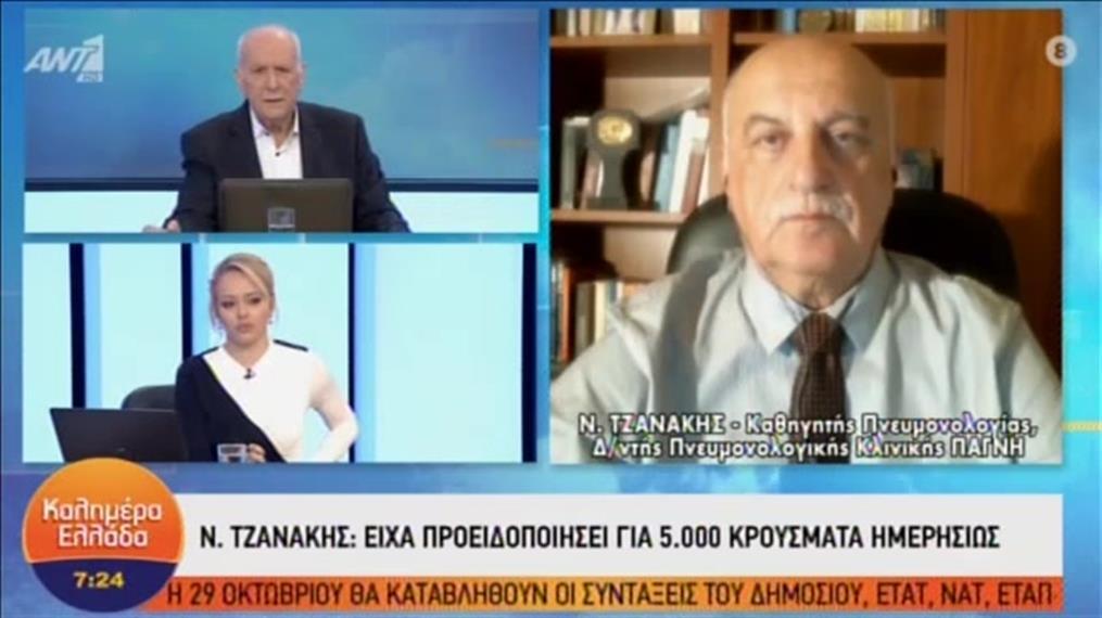 Ο Νίκος Τζανάκης στο «Καλημέρα Ελλάδα»
