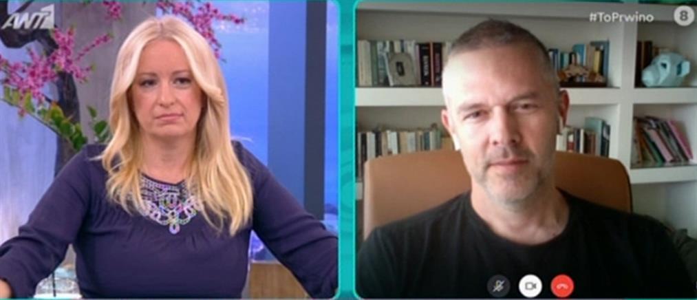 Χρήστος Λούλης στον ΑΝΤ1: εάν ένας άνδρας διορθώσει μια γυναίκα, είναι σεξισμός; (βίντεο)