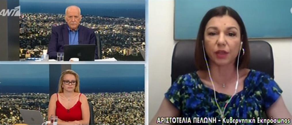 Κορονοϊός – Πελώνη: όσοι δεν εμβολιαστούν θα έχουν περιορισμούς (βίντεο)