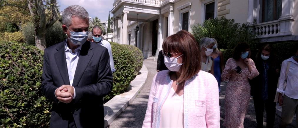 """Special Report"": πρεμιέρα με την Κατερίνα Σακελλαροπούλου (εικόνες)"