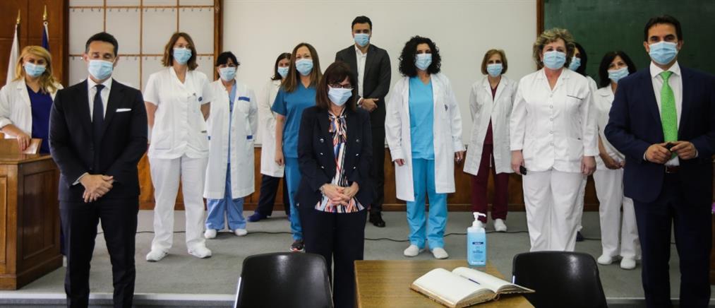 Σακελλαροπούλου: Νίκη του ΕΣΥ στην κρίσιμη περίοδο της πανδημίας