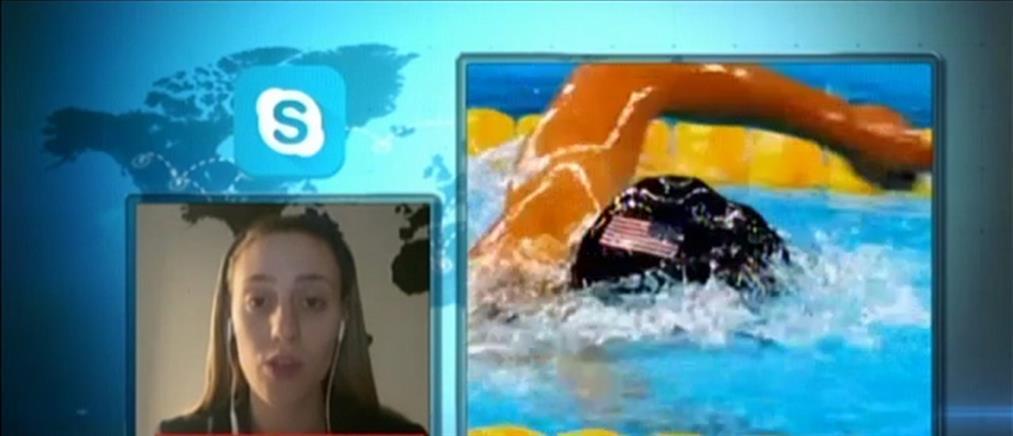 Η Άννα Κορακάκη και ο Παύλος Καγιαλής στον ΑΝΤ1 για τους Ολυμπιακούς Αγώνες που αναβλήθηκαν (βίντεο)