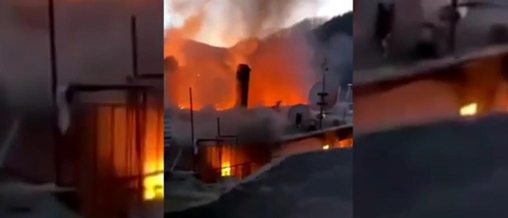 Ηλικιωμένοι κάηκαν ζωντανοί μέσα στο σπίτι τους (βίντεο)
