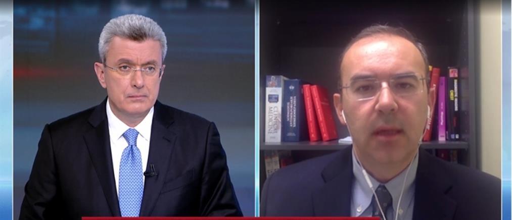 Κορονοϊός - Καραγεωργόπουλος στον ΑΝΤ1: το 25% όσων νοσηλεύονται είναι έως 50 ετών (βίντεο)