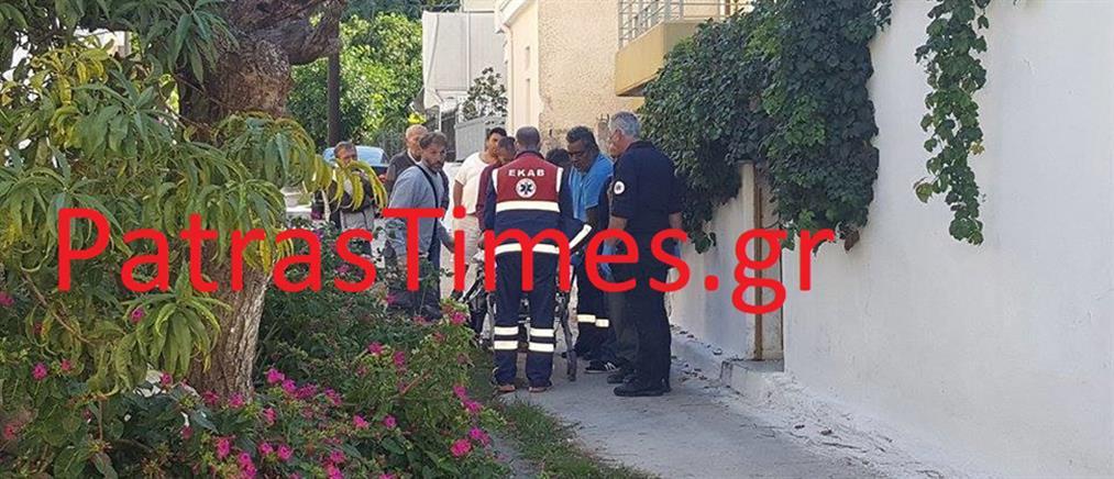 Εργατικό ατύχημα στην Πάτρα: Έπεσε από σκαλωσιά 4 μέτρων (βίντεο)