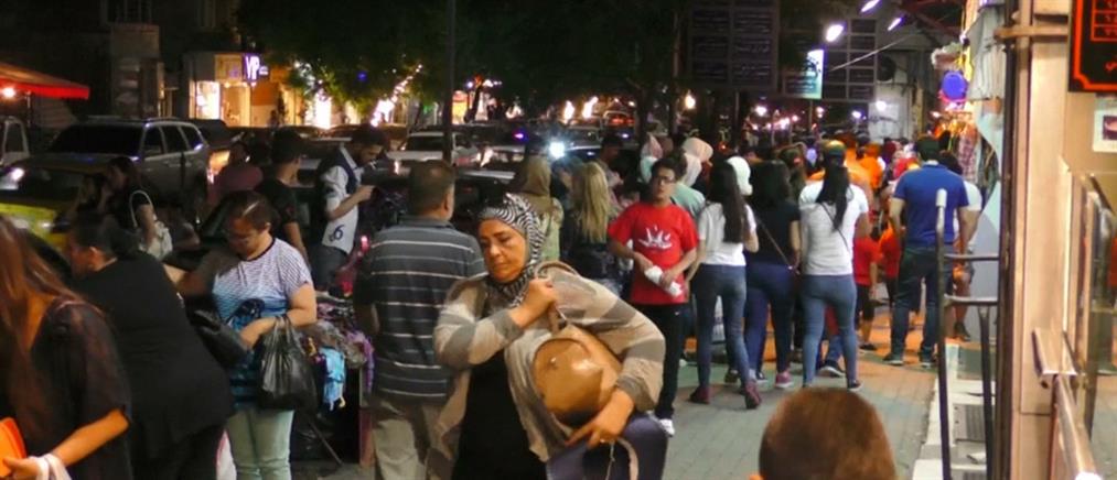 Πλήθος κόσμου γιόρτασε το τέλος του Ραμαζανιού στη Δαμασκό (βίντεο)