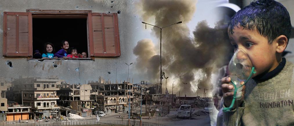Παγκόσμιο σοκ από τις εικόνες μετά την επίθεση με χημικά όπλα στην Ντούμα (βίντεο)