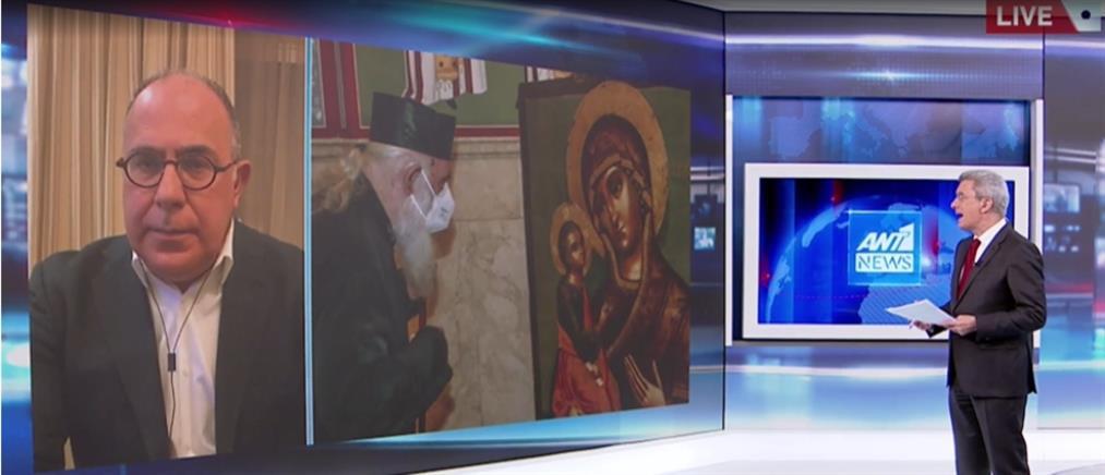 Κονιδάρης στον ΑΝΤ1: ο Αρχιεπίσκοπος ήταν έτοιμος για όλα τα ενδεχόμενα (βίντεο)