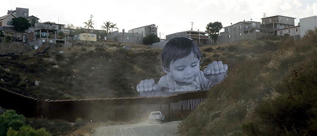 """Το """"αιχμάλωτο"""" αγόρι στα σύνορα ΗΠΑ - Μεξικού"""