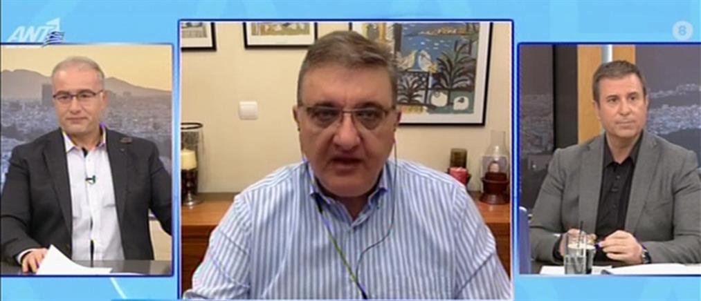 Εξαδάκτυλος στον ΑΝΤ1: αναμένεται αύξηση σε θανάτους και διασωληνωμένους (βίντεο)