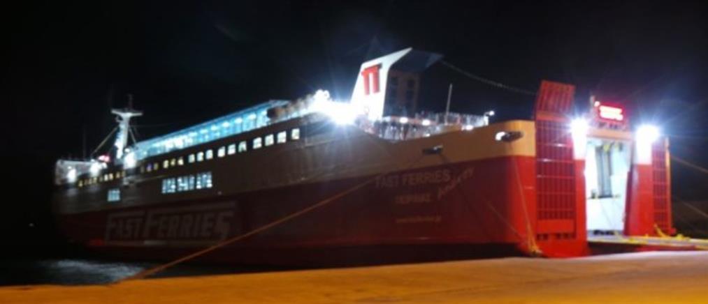Πρόβλημα σε πλοίο εν πλω έξω από την Άνδρο