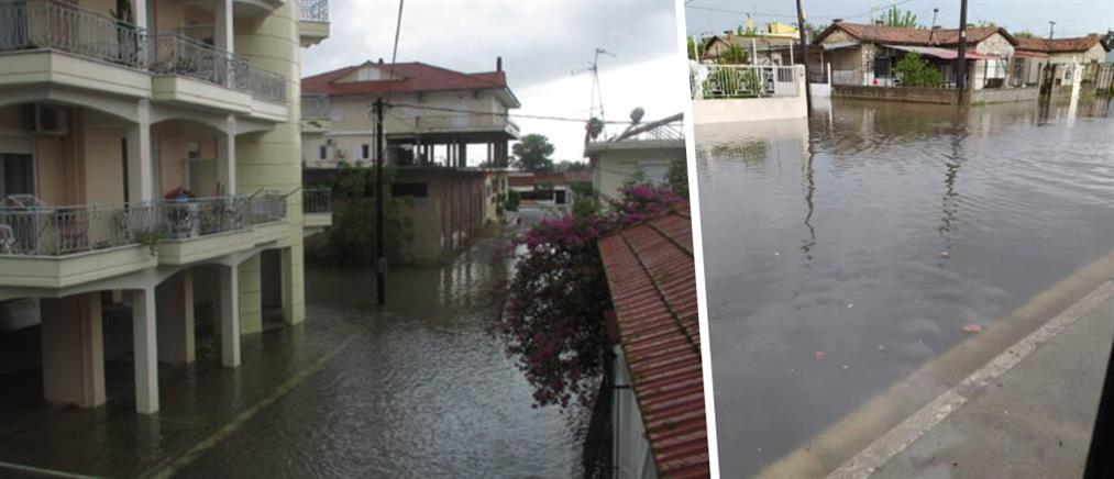 Πλημμύρισε το Μεσολόγγι! (εικόνες)
