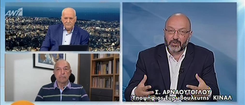Ευρωεκλογές 2019: ο Σάκης Αρναούτογλου στον ΑΝΤ1 για την υποψηφιότητα του με το ΚΙΝΑΛ (βίντεο)