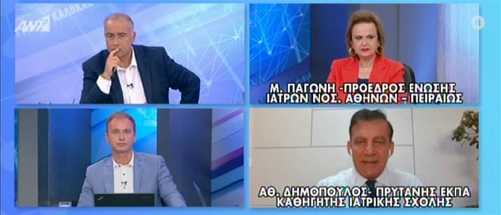 Δημόπουλος: Πώς μεταδίδεται ο κορονοϊός  (βίντεο)