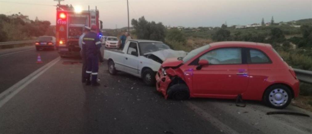 Κρήτη - Τροχαίο: Μία νεκρή και 3 τραυματίες