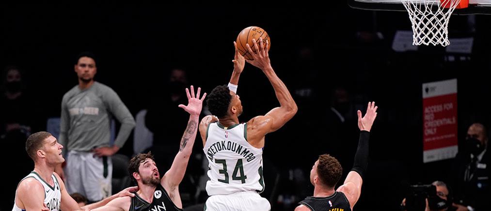 NBA: Αντετοκούνμπο και Μπακς πανηγύρισαν το break στην Ατλάντα