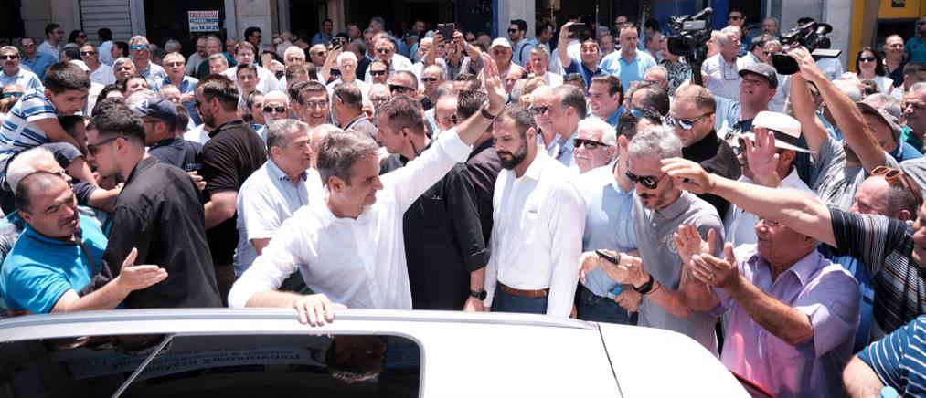 """Μητσοτάκης: Στόχος όλη η Κρήτη να βαφτεί """"γαλάζια"""""""