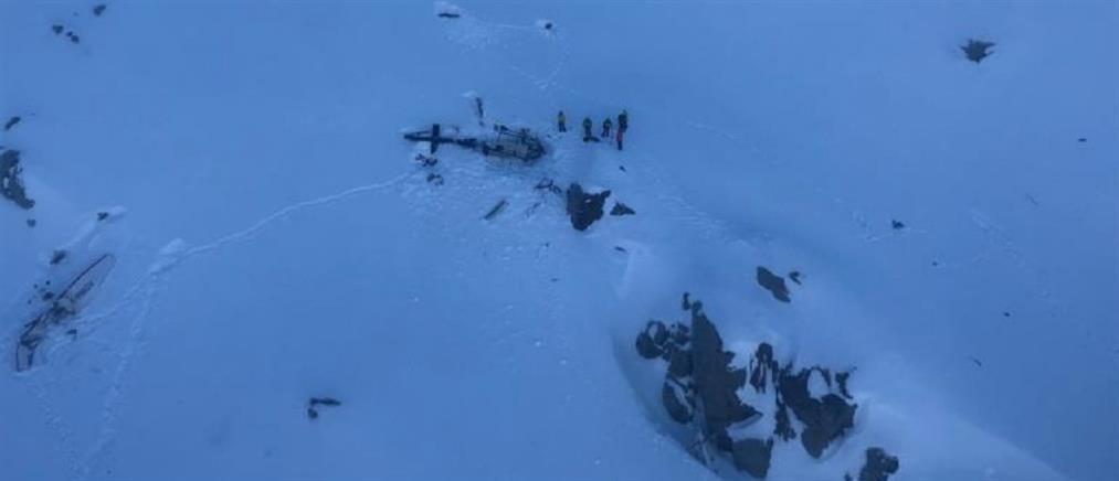 Σύγκρουση αεροπλάνου με ελικόπτερο πάνω από τις Άλπεις
