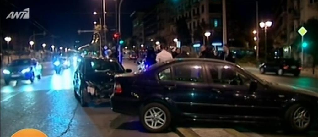 Τροχαίο στο κέντρο της Αθήνας (εικόνες)