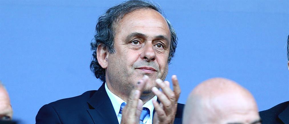 Παραιτήθηκε από την UEFA ο Πλατινί