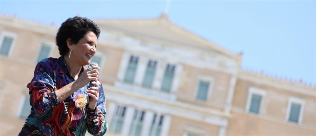 Η Άλκηστις Πρωτοψάλτη στον ΑΝΤ1 για την συναυλία εν κινήσει και τις επικρίσεις (βίντεο)