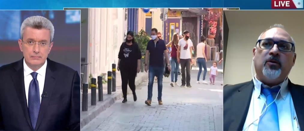 Κορονοϊός - Θωμαΐδης στον ΑΝΤ1: δεκάδες χιλιάδες τα ενεργά κρούσματα στην Αττική (βίντεο)
