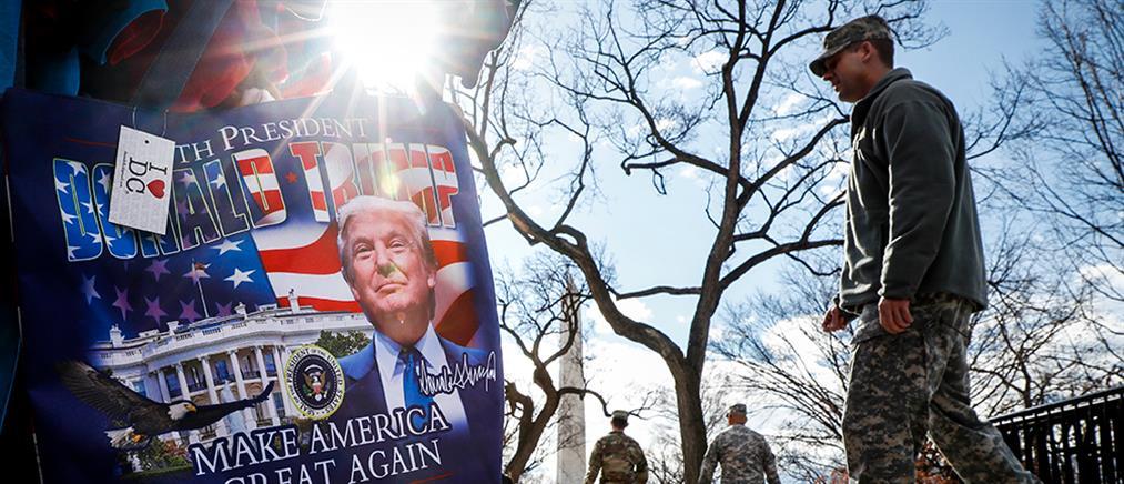 Σε ρυθμούς Τραμπ οι ΗΠΑ - Το πρόγραμμα της ορκωμοσίας