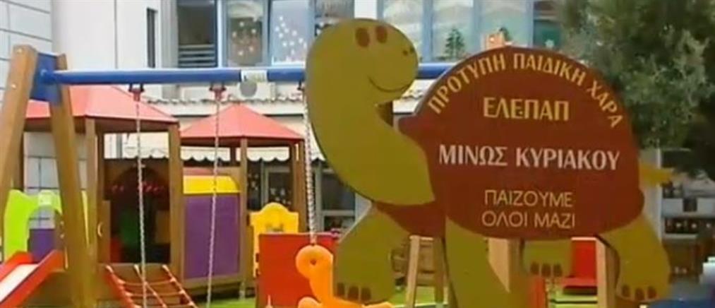 Πρότυπη παιδική χαρά της ΕΛΕΠΑΠ αφιερωμένη στην μνήμη του Μίνωα Κυριακού (βίντεο)