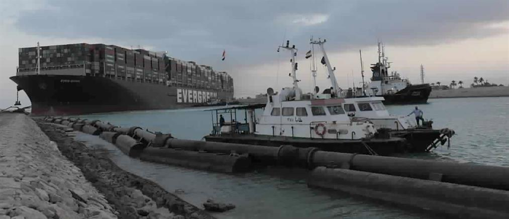 Διώρυγα του Σουέζ: Εντολή Αλ Σίσι για ξεφόρτωμα του πλοίου