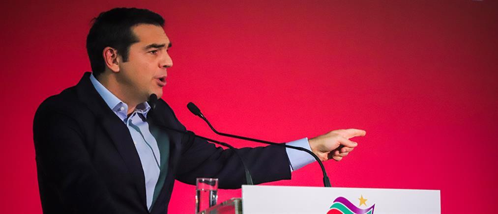 Τσίπρας: βγάλαμε τη χώρα από τα μνημόνια και επιλύουμε ιστορικές εκκρεμότητες