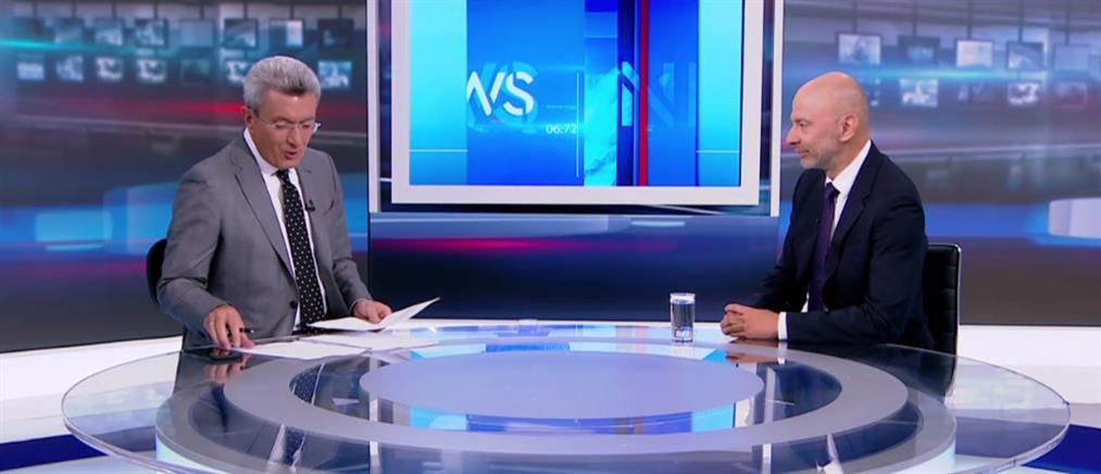 """Ζαριφόπουλος στον ΑΝΤ1: """"στοίχημα"""" η μείωση της γραφειοκρατίας (βίντεο)"""