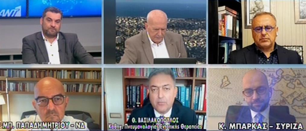 Ο Βασιλακόπουλος στον ΑΝΤ1 για τη νοσοκόμα στην Κέρκυρα που παρέλυσε μετά το εμβόλιο