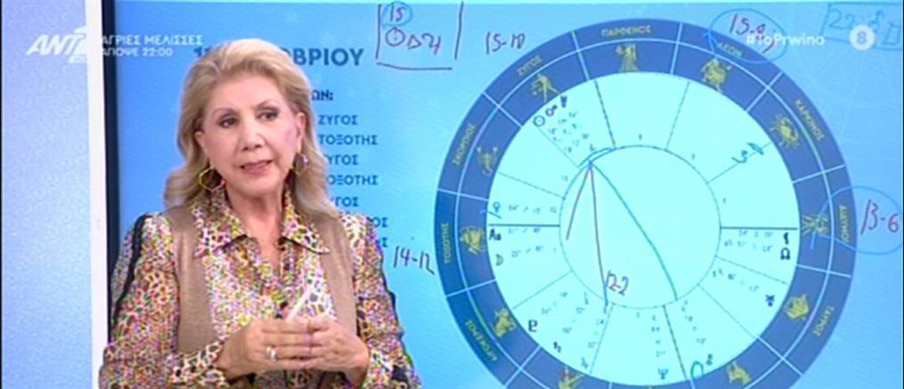 Λίτσα Πατέρα - Ζώδια: η 15η Οκτωβρίου και το τρίγωνο με τον Δία (βίντεο)