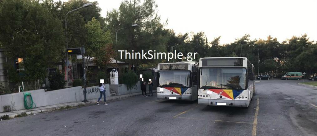 Επίθεση οπαδών σε λεωφορείο του ΟΑΣΘ