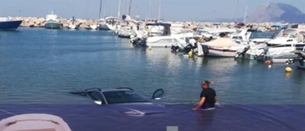 Επικό: Πήγε να βγάλει το σκάφος στη στεριά και έριξε το αυτοκίνητο στη θάλασσα (εικόνες)