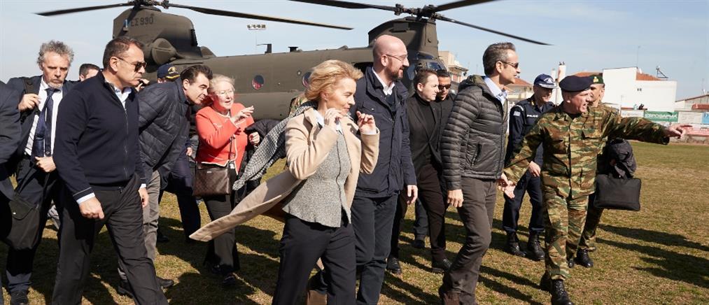 Μεταναστευτικό: ξανά στην Ελλάδα η Πρόεδρος της Κομισιόν