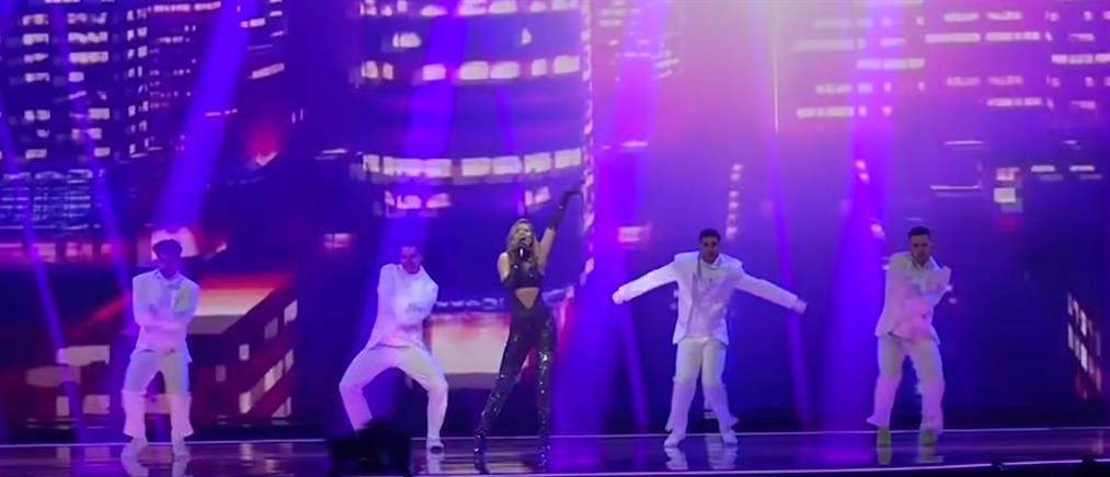 Eurovision 2021 - Στεφανία Λυμπερακάκη: Η πρώτη πρόβα στο Ρότερνταμ (βίντεο)
