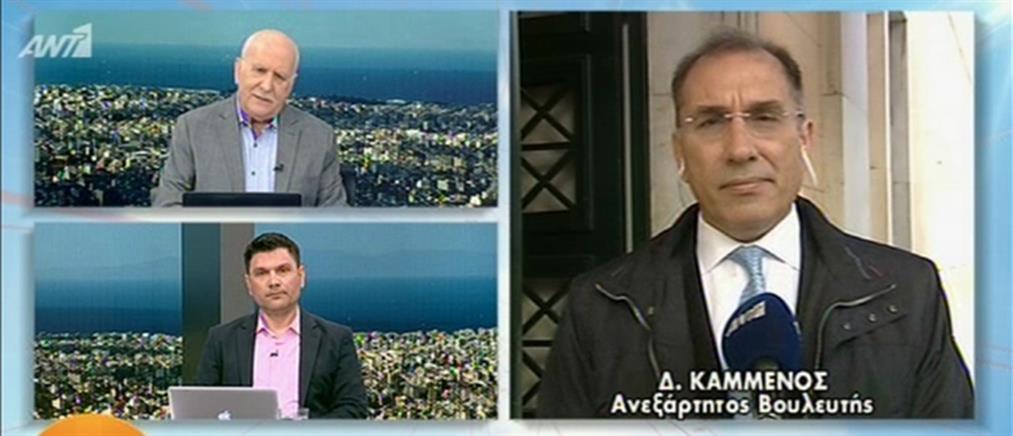 """Δημήτρης Καμμένος στον ΑΝΤ1: ο ΣΥΡΙΖΑ κυβερνά με """"παρά φύση έδρα"""""""