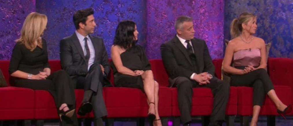 Όλα όσα έγιναν στο reunion των Friends (βίντεο)